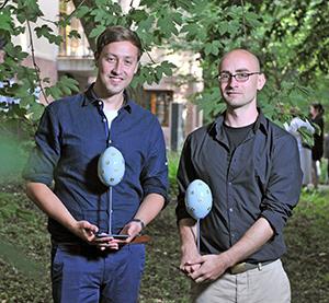 BESTFORM 1. Preis Philipp Rösler und Thomas Kores Copyright: IMG / André Kehrer