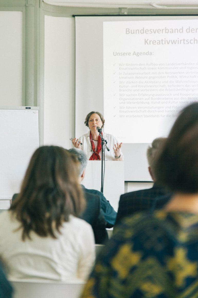Fachkonferenz – Kultur- und Kreativwirtschaft in Deutschland am 20.04.2018 in Halle (Saale) Slide 16