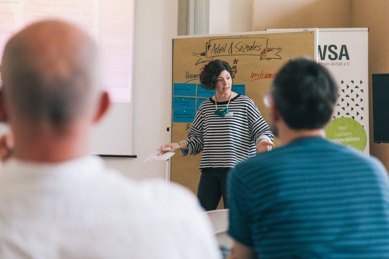 Fachkonferenz – Kultur- und Kreativwirtschaft in Deutschland am 20.04.2018 in Halle (Saale) Slide 27
